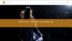 Screenshot Website www.ez-fashion.de